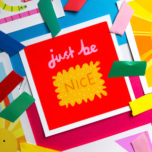 Nice Biscuit - square giclee illustration print