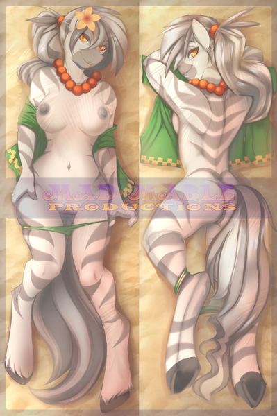 Kinky the Cabana Girl - by Scappo - Dakimakura Cover