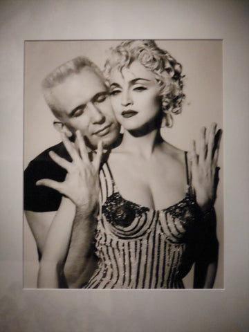 Jean Paul Gaultier and Madonna