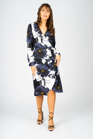 Noelle Wrap Dress