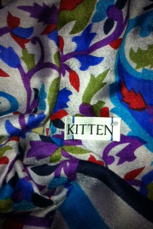 Kitten Beachwear silk & wool scarves