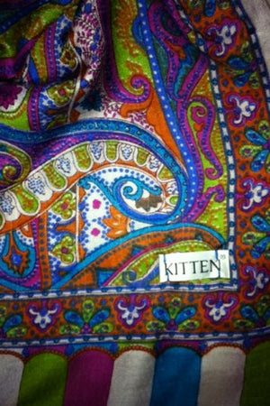 Kitten Beachwear multicolour Scarf