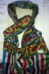 Daria silk kitten beachwear scarf