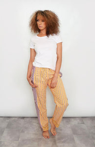 Buttermilk Striped Kenya Pants