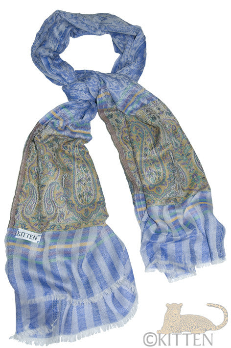 ladies blue Pashmina