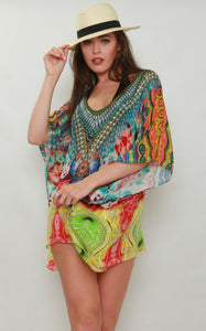 Maho Mini Kaftan / Kaftan Top