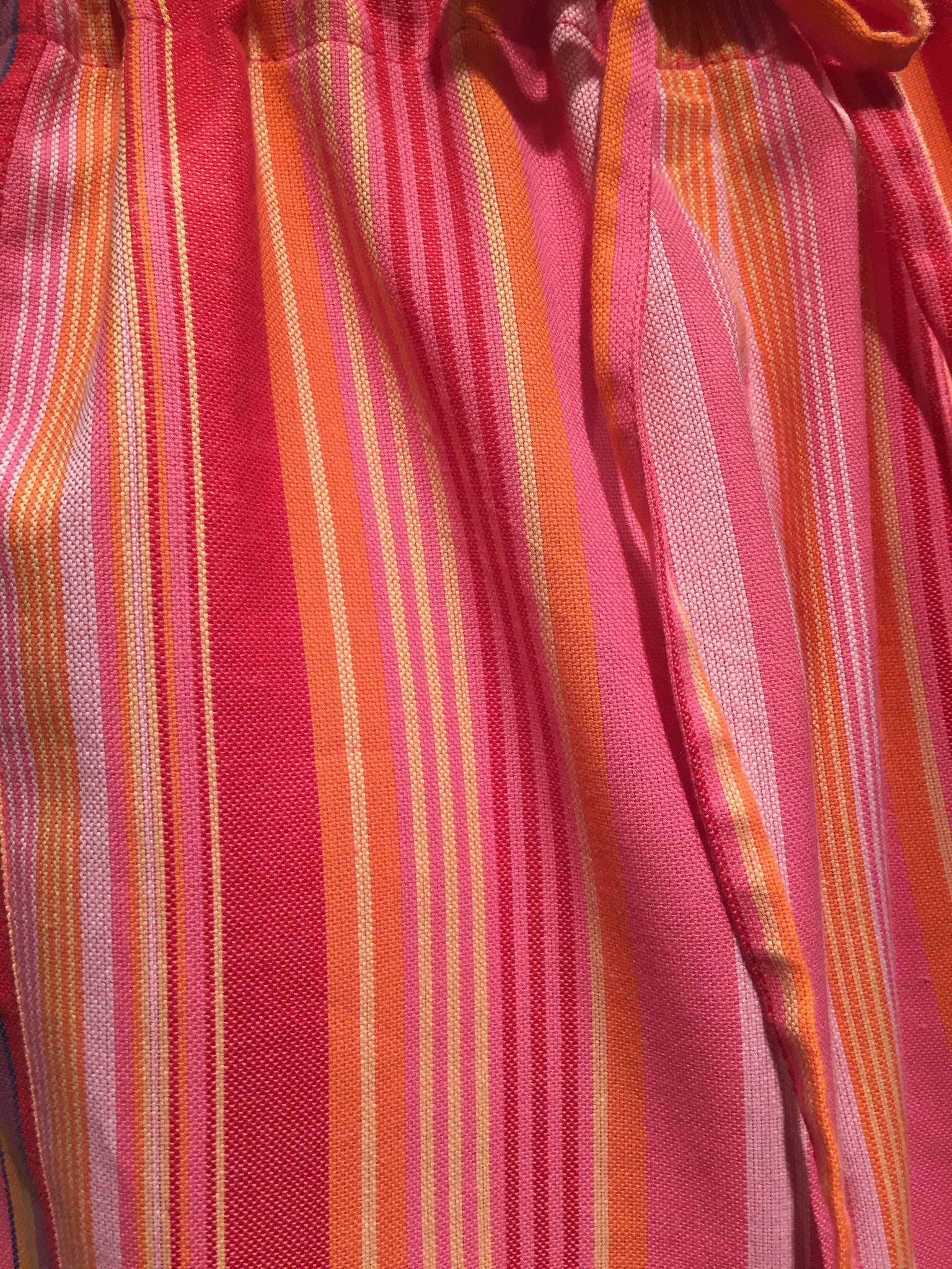 Pink Striped Kenya Pants