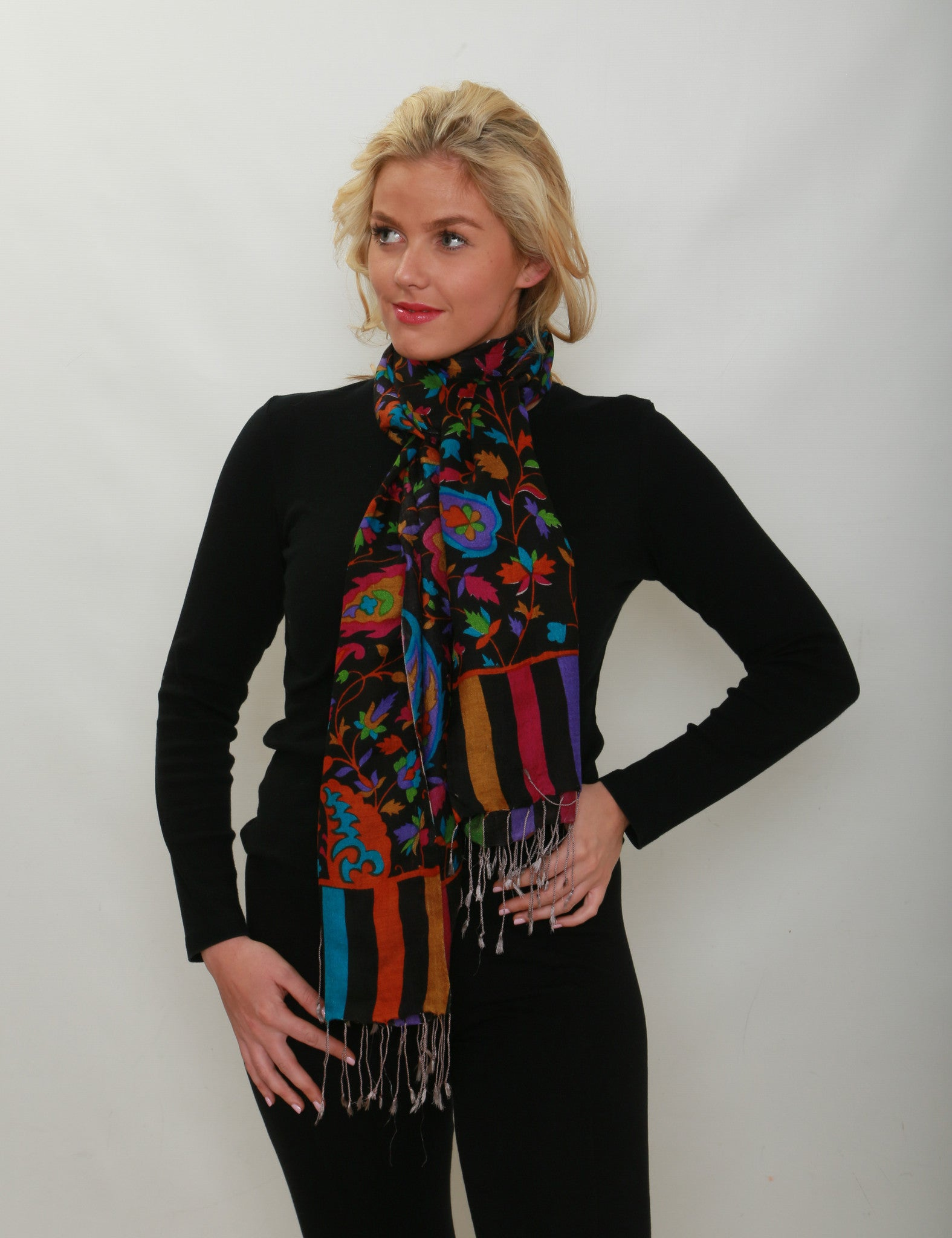 Izabel Silk Scarf