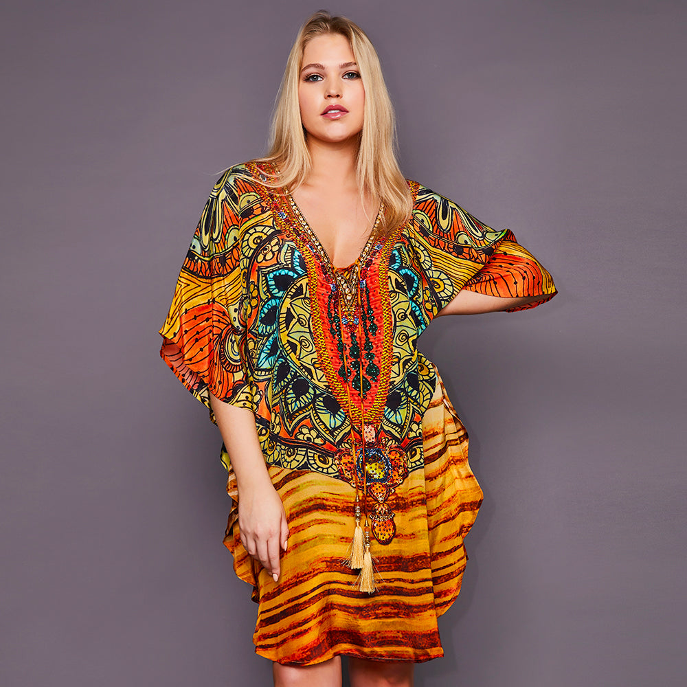 Kitten Beachwear Sunshimmer Kaftan