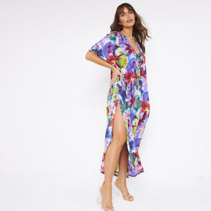 Kitten Beachwear Luxury Maxi Kaftan