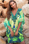 Athena Kaftan with Tassels