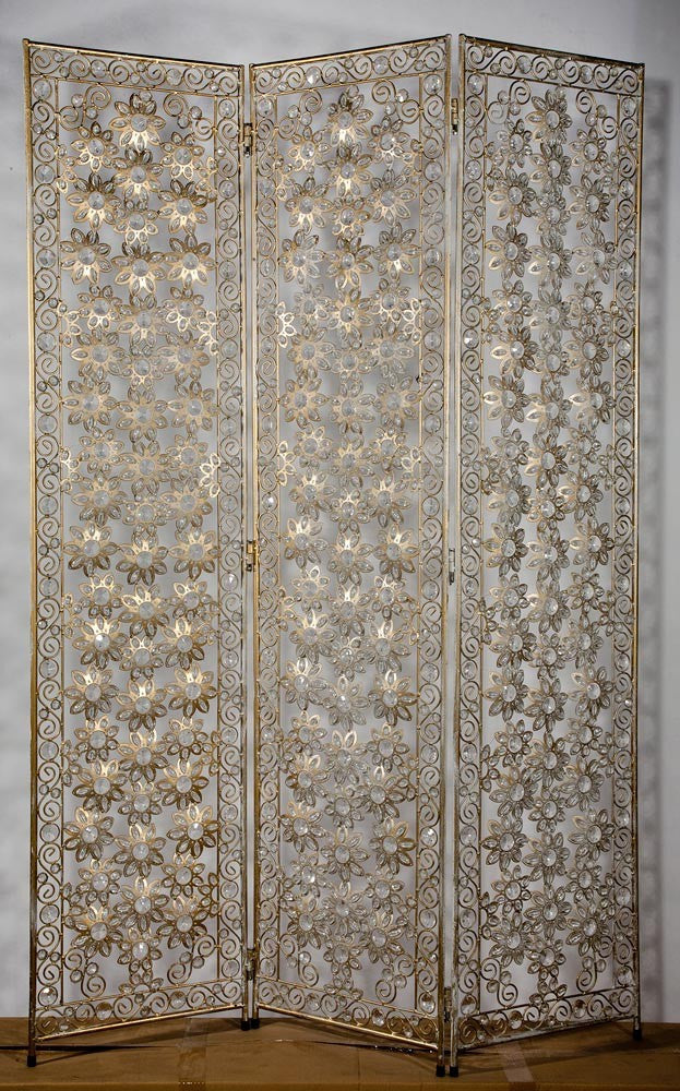 Monsoon Antique 3 panelled dressing screen