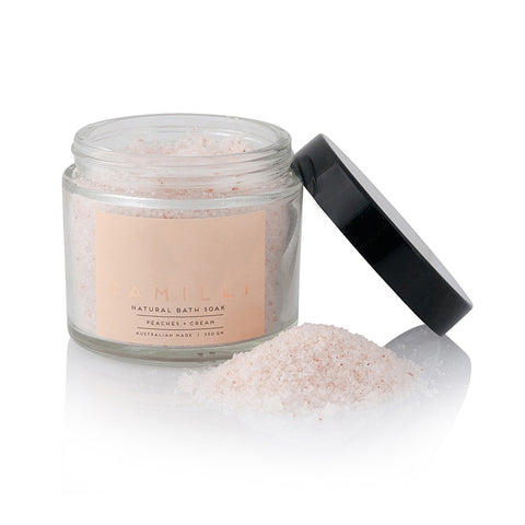 Bath Soak - Peaches & Cream