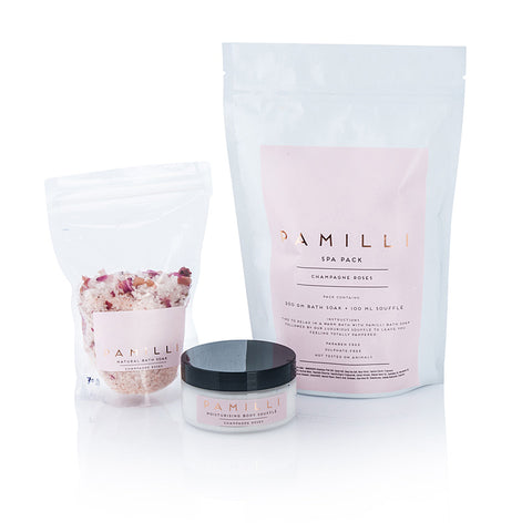 Pamilli Spa Pack  - Champagne Roses  NEW!