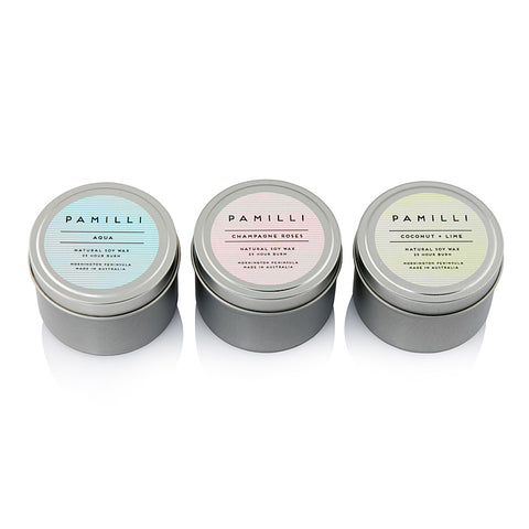 Pamilli Candle Trio