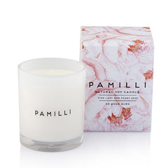 Natural Soy Candle - Pink Lady + Peony Rose
