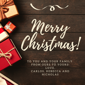 Merry Christmas in 2019: Sharing Blessings