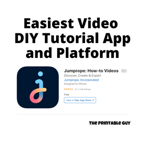 Easiest Video DIY Tutorial App and Platform