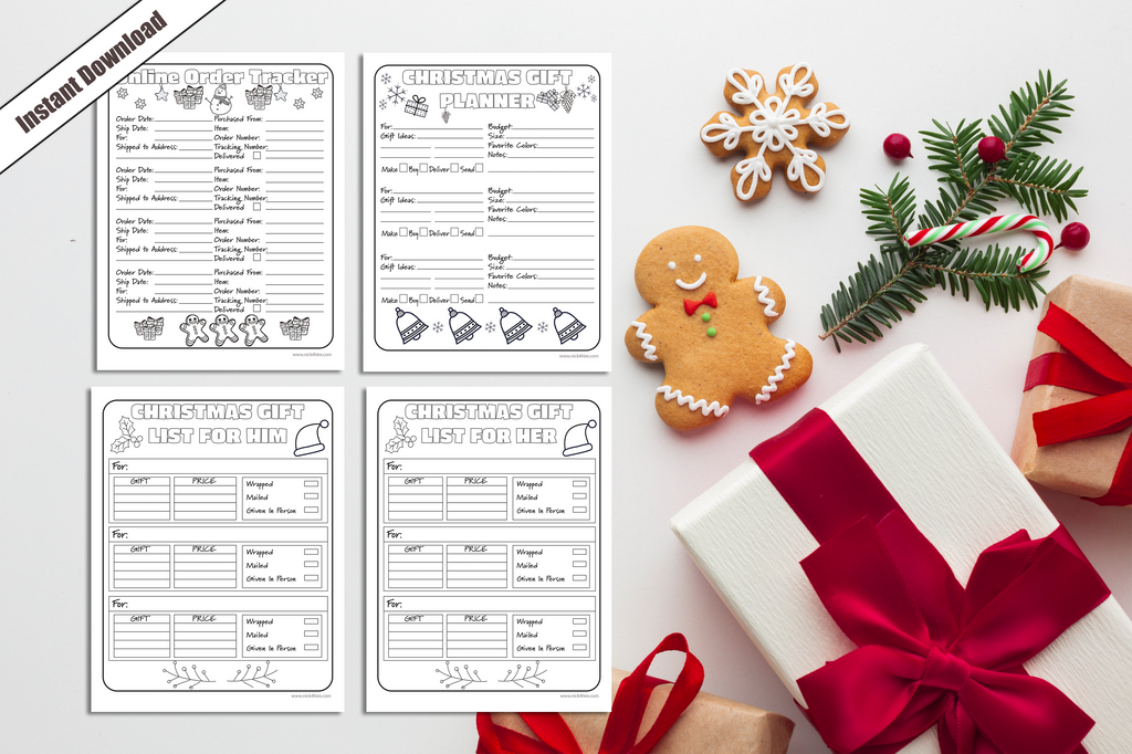 Having fun using Adobe Illustrator Creating Holiday Planner Packs