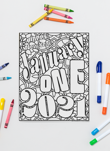 Happy New Year in 2021 Printable Pals!
