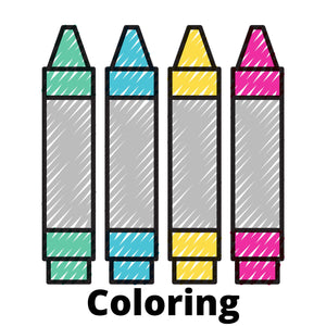 Coloring Pages created by The Printable Guy