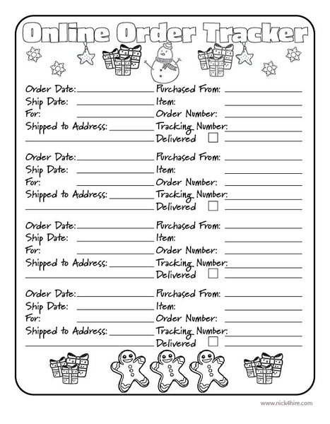 Christmas Planner Pack PDF Downloadable Printables