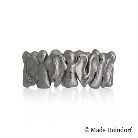 Englene, fingerring, 10 mm, 18K
