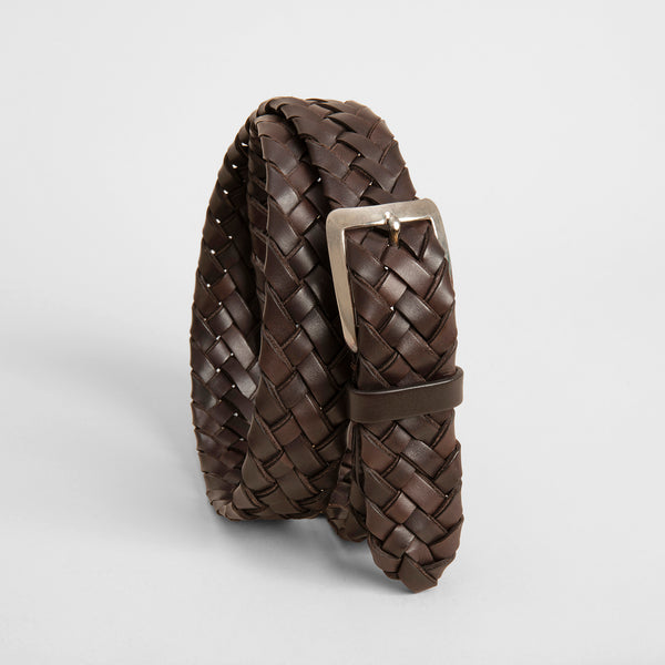 Hand braided classic belt - T. Moro