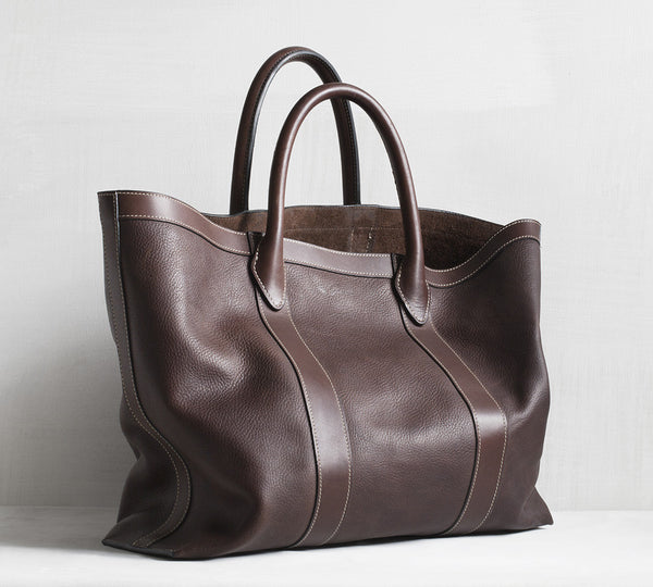 Odin tote bag - brown