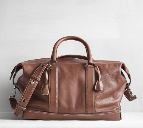 Gefion overnighter - tanned brown