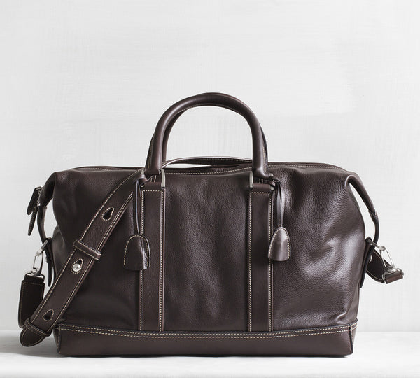 Gefion overnighter - dark brown
