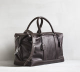Frej weekender - dark brown