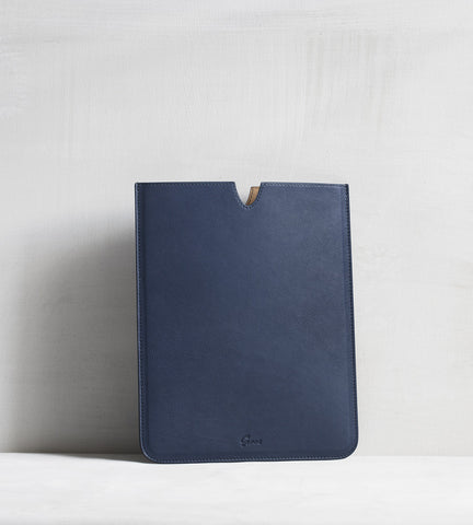 iPad sleeve - blue
