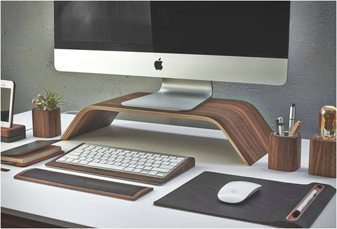 Desk collection par grovemade le bureau en bois u oncle pape