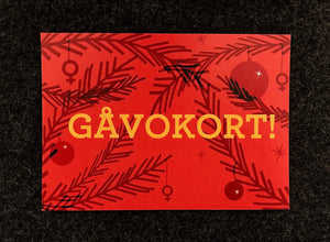 Gåvokort - Juledition