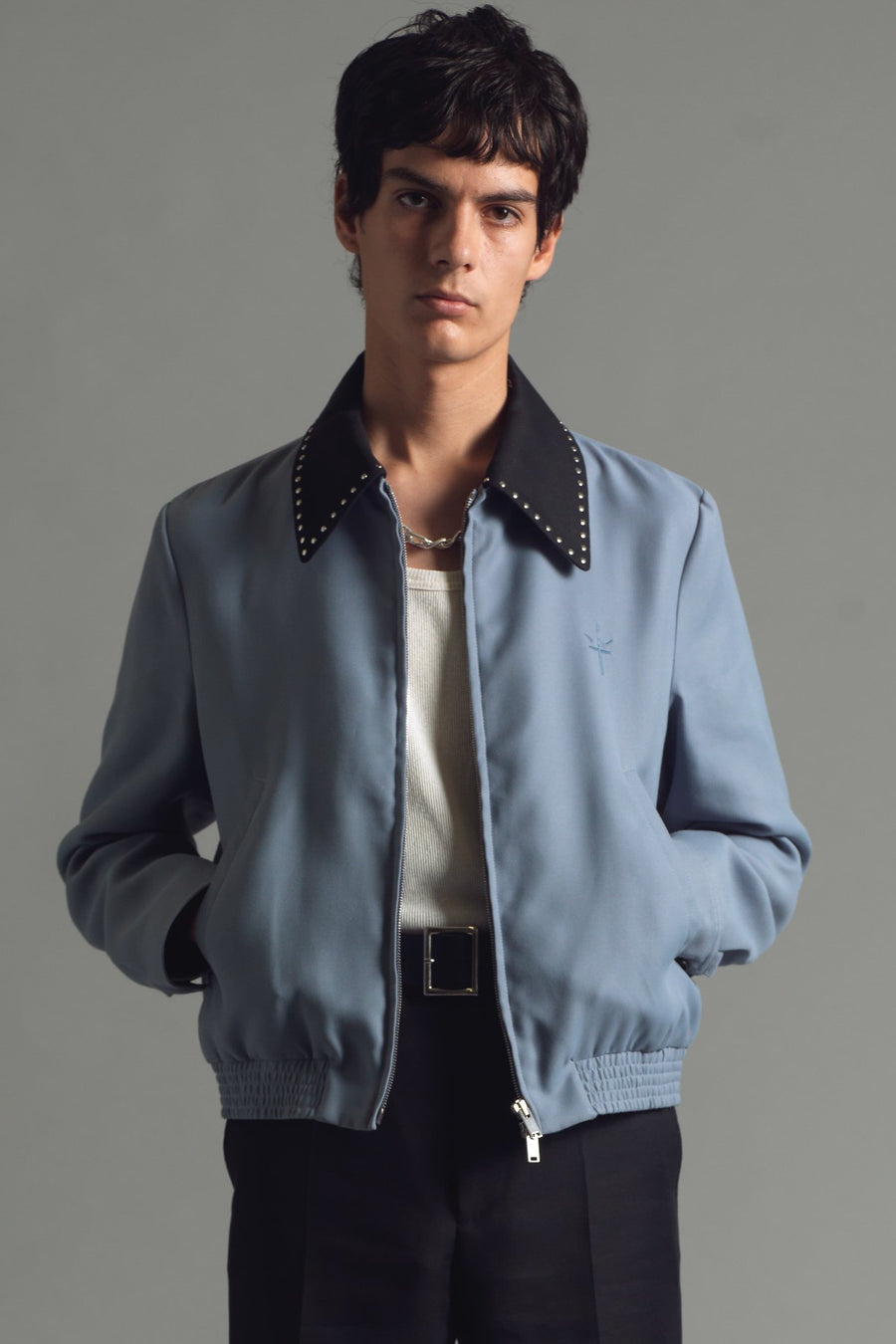 Profondo Blouson | Angel Blue - SECOND/LAYER Inc.