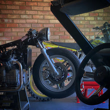 Load image into Gallery viewer, CX500 Side Swept Headers - Custom Exhaust System -  CX650 GL500 GL650 - Cafe Racer, Scrambler, Tracker, Bobber