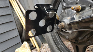 Universal Motorcycle Side Mounted Licence Plate Holder
