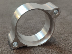 CX500 CX650 GL500 GL650 CNC Exhaust Flange Header Clamp Bracket (Pair)