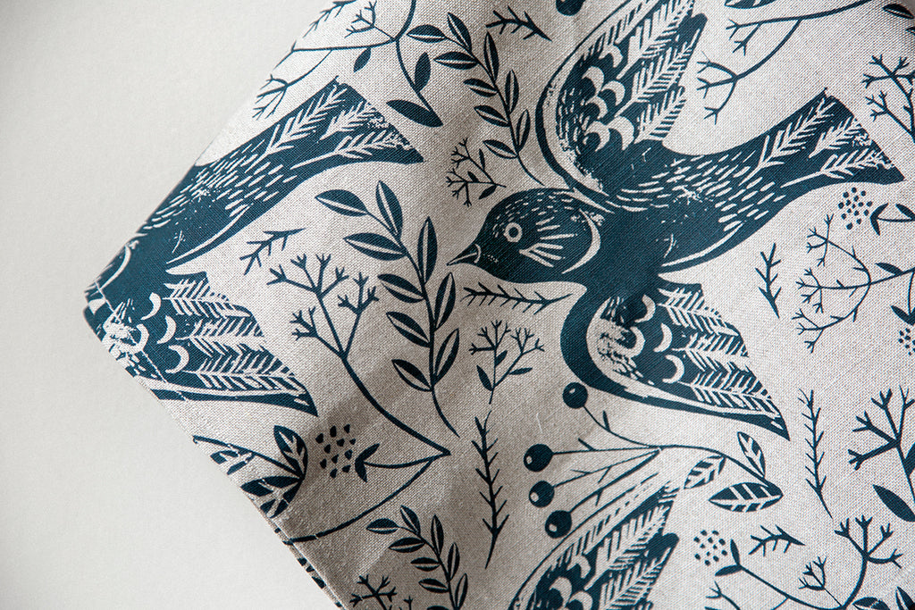 Bird Flock Teatowel
