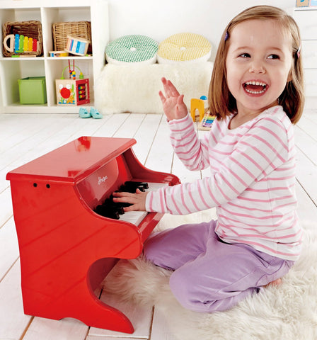 Hape Early Melodies Playful Piano, Red