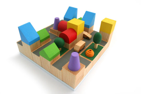 Cubiciti Wooden Building Blocks