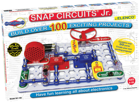 Elenco Snap Circuits Jr. Educational 100 Experiments