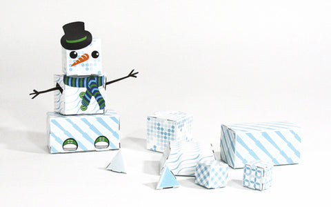Build-Your-Own Paper Kit - Snowguy