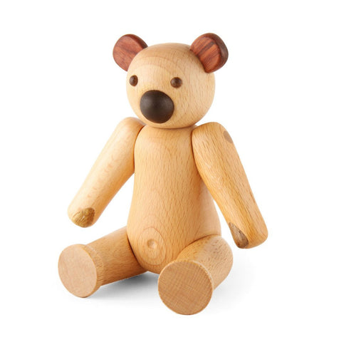 Soopsori Wooden Bear Toy