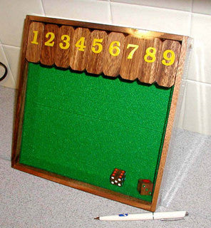 Shut the Box 1-9 - Wooden Math Game