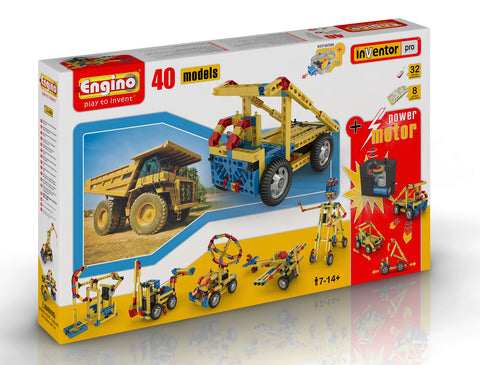 Engino 40 Model Construction Set with Motor