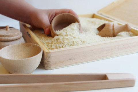Explore With Me – Wooden Sensory Box