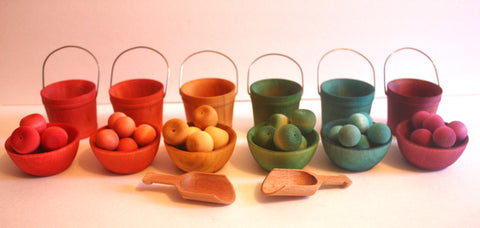 Fruit Stand Sorting Bowls