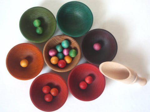 Rainbow Sorting Bowls